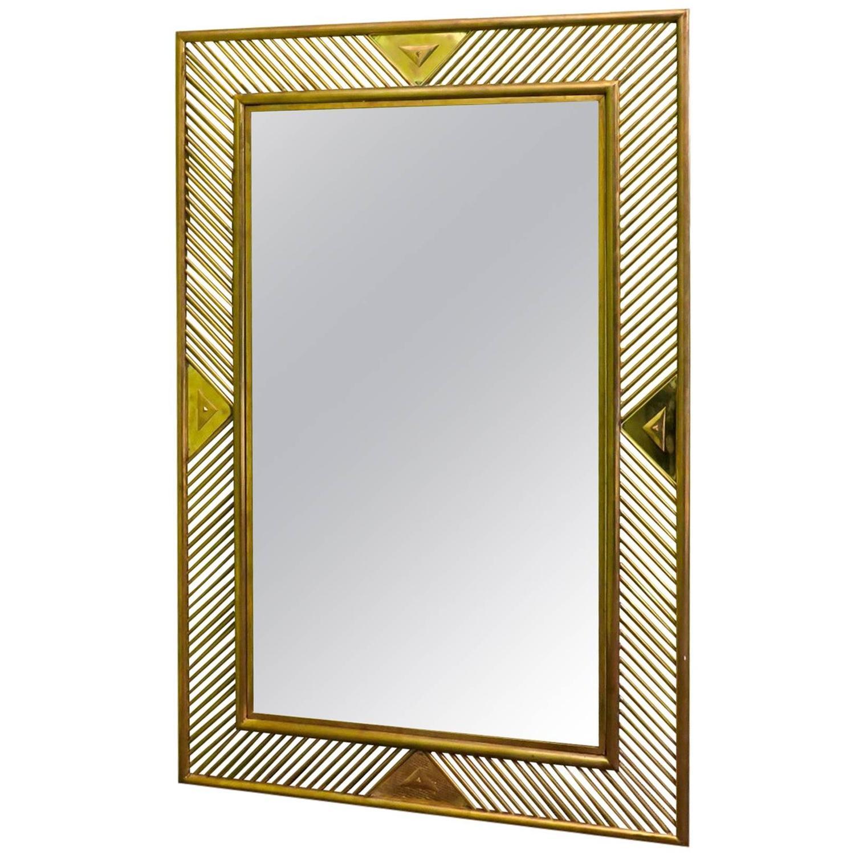 Beautiful Mirror Barovier and Toso at 1stdibs