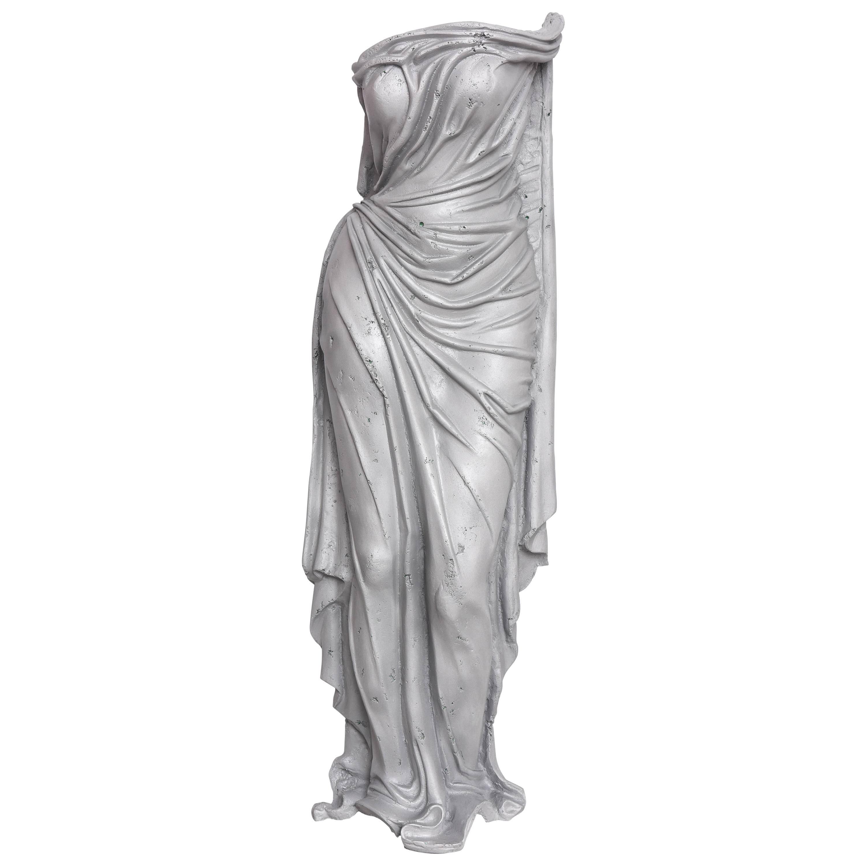 "Art Deco Aluminum Sculpture, Titled ""Tunic of Venus"", American, 1930s-1940s"