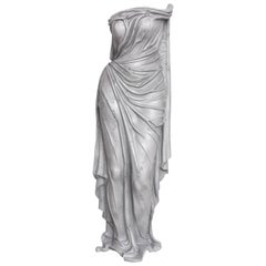 "Art Deco Aluminum Sculpture, Titled ""Tunic of Venus"", American, 1930s-1940s"