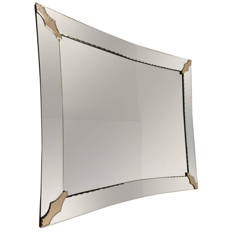 Elegant Shaped Venetian Mirror