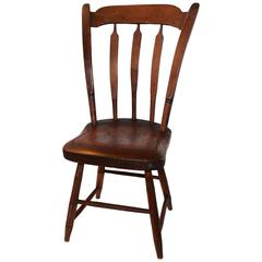 Amazing Early 19th Century Child's Thumbtack/Arrowback Windsor Chair