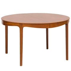 Ole Wanscher Dining Table by Snedkermester A.J. Iversen in Denmark