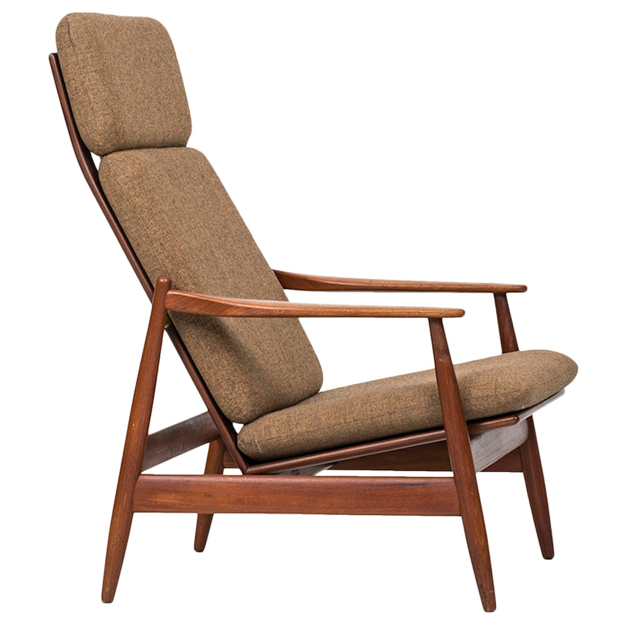 Poul Volther Easy Chair Model 340 by Frem Røjle in Denmark