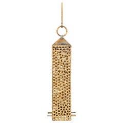 Pierre Forsell Hanging Lantern in Brass by Skultuna in Sweden