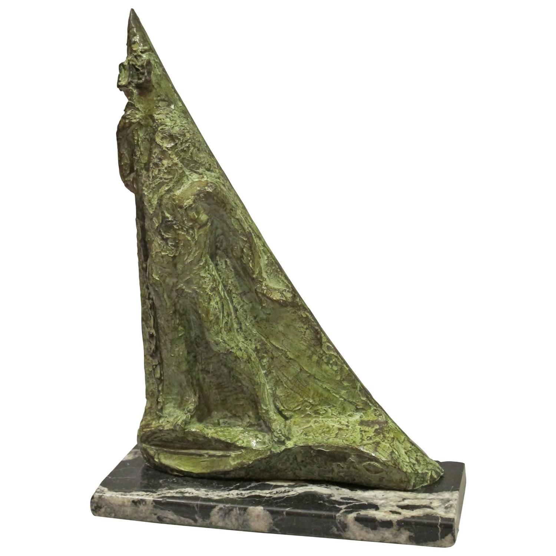 Bronze sculpture quot neptune quot by the artist edmond moirignot for sale at