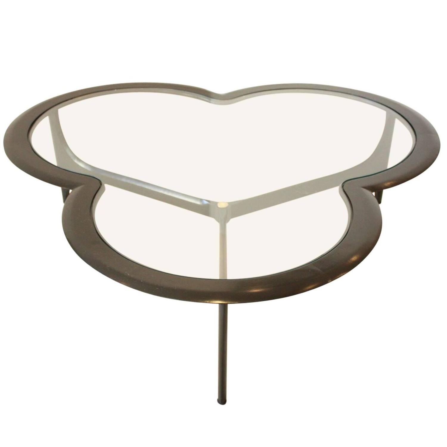 Park Lane Coffee Table: Mid-Century Clover Coffee Table By Lane At 1stdibs