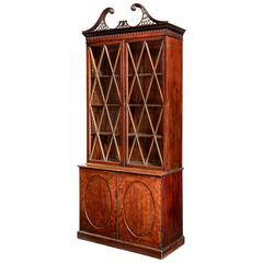 George III Period Mahogany Bookcase of Exceptional Quality