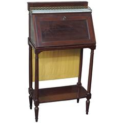 Unusual Small French Directoire or Empire Transition Desk