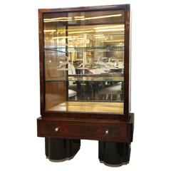 Rio Palisander Display Cabinet