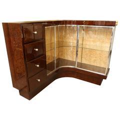 Demilune Corner Cabinet