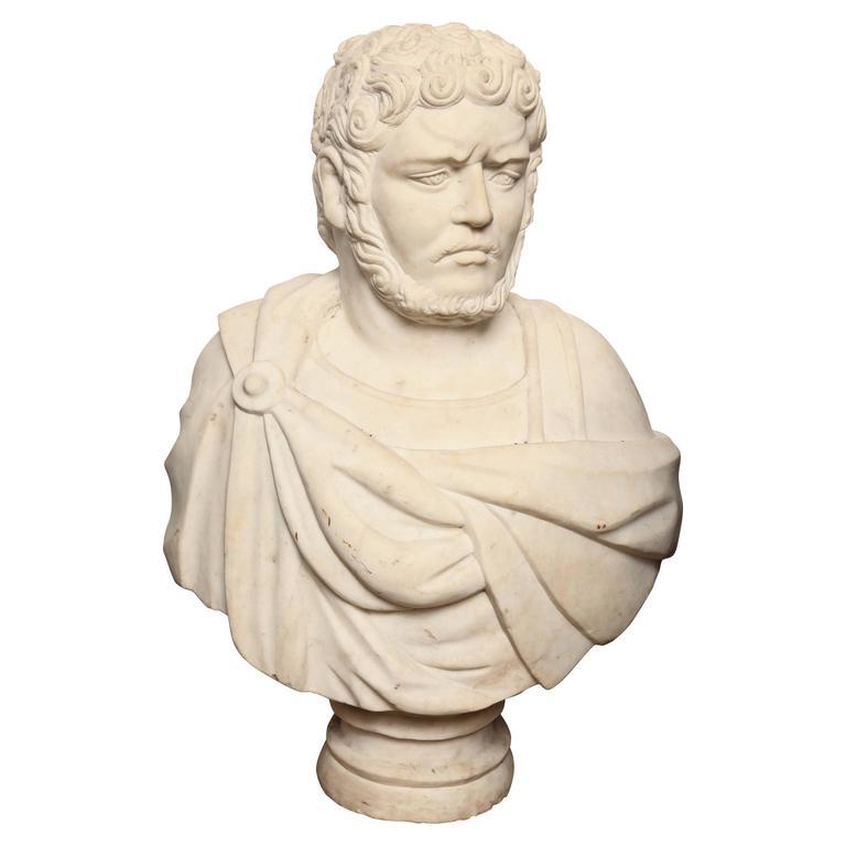 19th Century Italian Marble Bust