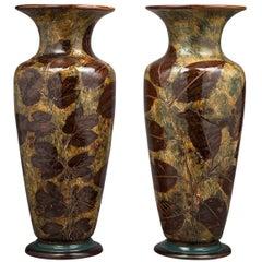 Pair of Doulton Lambeth Vases, circa 1890