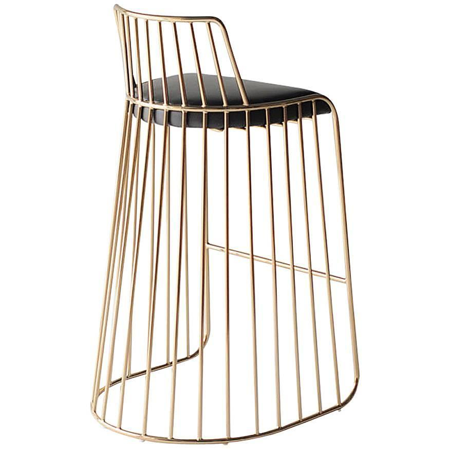 Bride S Veil Bar Stool By Phase Design For Sale At 1stdibs
