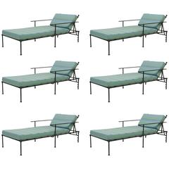 Outdoor Vintage Chaise Lounges