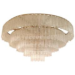 Grand Tronchi Midcentury Five-Tier Chandelier