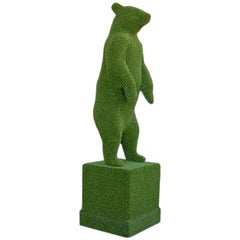 Bear Shape in Synthetic Turf