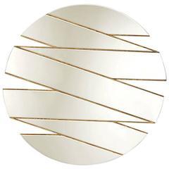 Mirror Zig-Zag with Renaissance Gold Wood Finish