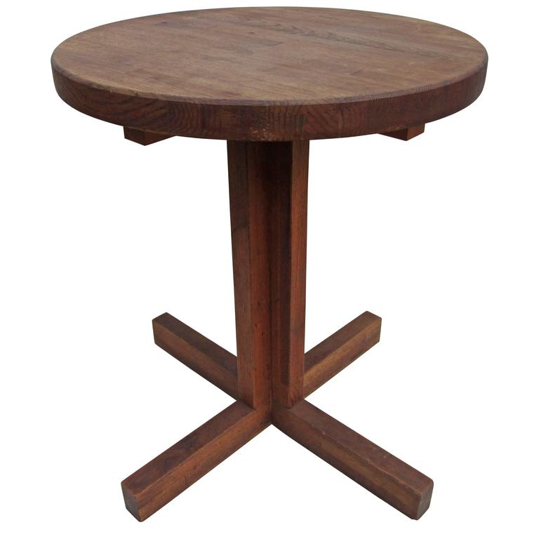 modern butcher block tavern table at 1stdibs
