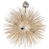 Italian Late 20th Century Silver Sputnik Chandelier