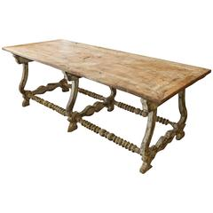 19th Century Spanish Work Table