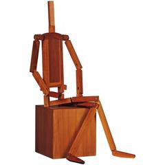 Articulated Cacharel wood mannequin
