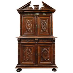 walnut renaissance cabinet 16th century for sale at 1stdibs