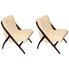 Pair of Scandinavian Chairs, circa 1960