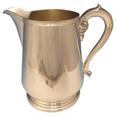 Richard Dimes Sterling Silver Water Pitcher, Retailed by Georg Jensen, USA