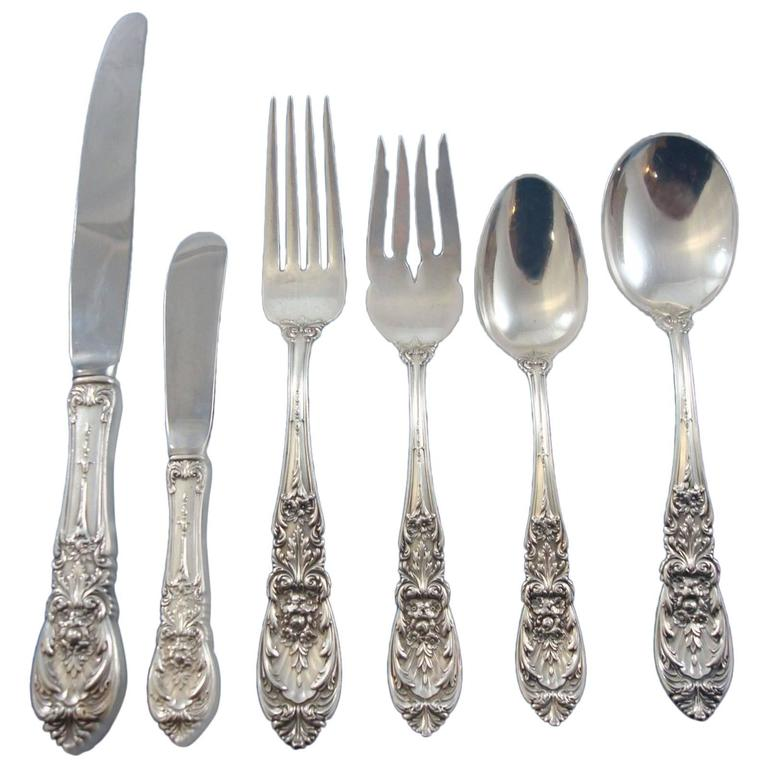 Richelieu By International Sterling Silver Flatware Set