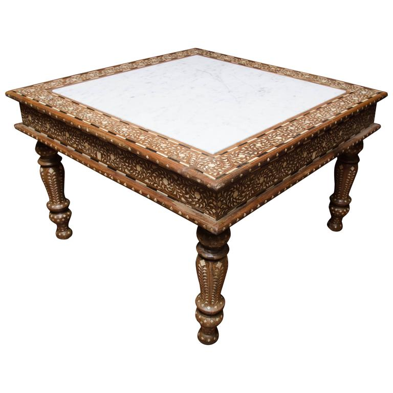 Marble Top Coffee Table India