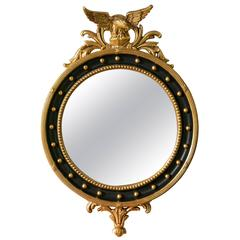Federal Style Bullseye Mirror, Custom Quality