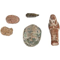 Ancient Egyptian Burial Scarabs