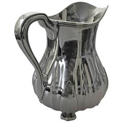 Tiffany Sterling Silver John Moore Water Pitcher #11349D