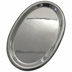 Georg Jensen Large Sterling Silver Tray