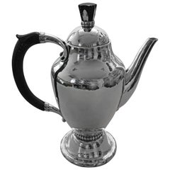 Georg Jensen Sterling Silver Coffee Pot