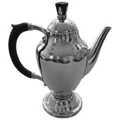 Georg Jensen Sterling Silver Coffee Pot