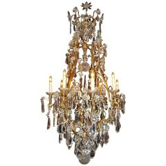 Antique Chandelier. Baccarat Chandelier