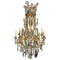 Baccarat chandeliers and pendants 54 for sale at 1stdibs antique chandelier rock crystal chandelier by baccarat aloadofball Image collections