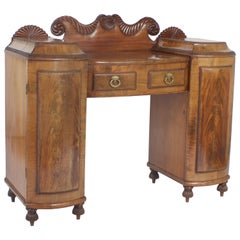 Small English Mahogany Sideboard