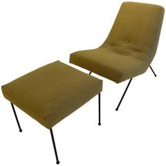 Adrian Pearsall Lounge Chair with Ottoman