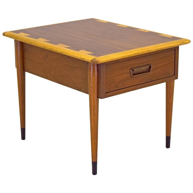 Lane Acclaim Nightstand Side Or End Table Vintage Mid