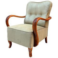 Austrian Art Deco Armchair