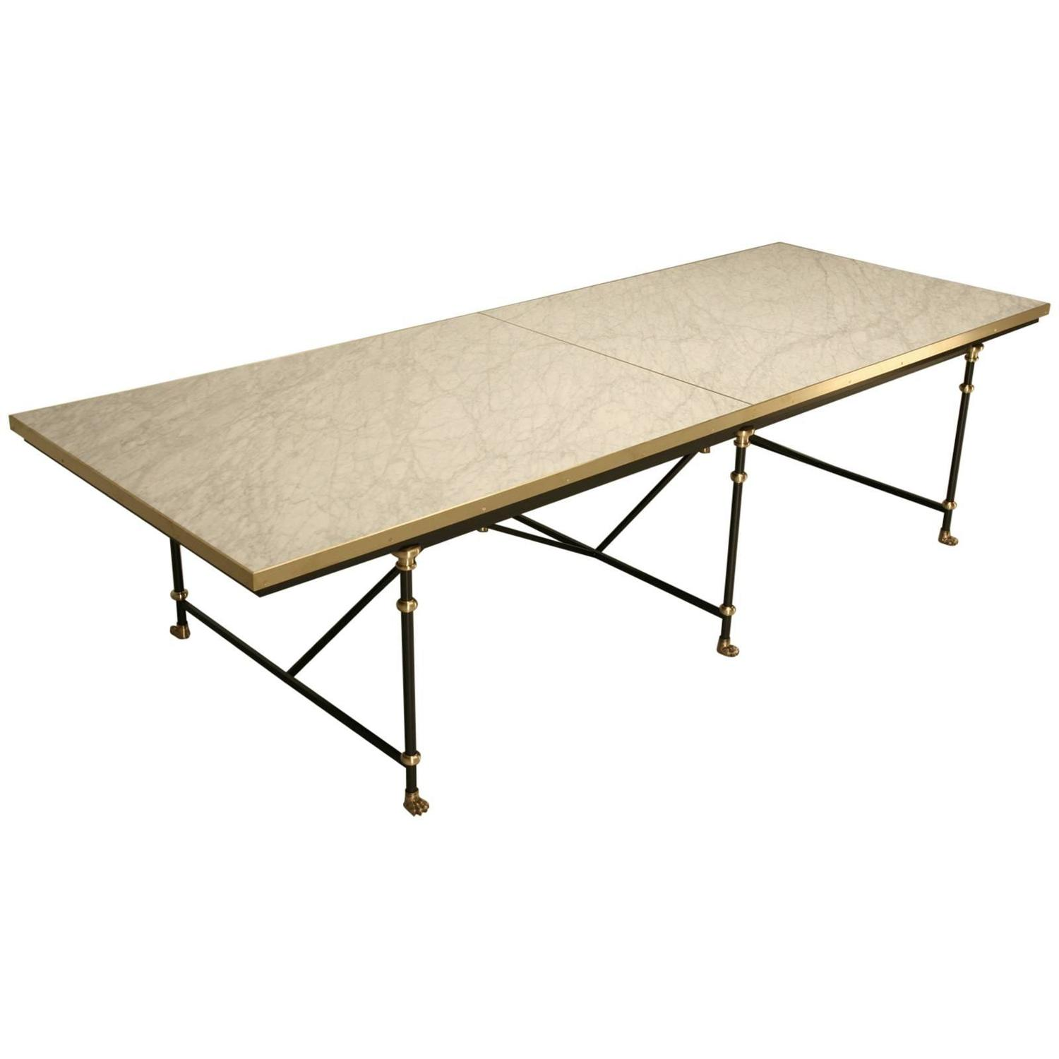 Industrial looking dining tables nspire industrial style for Looking for dining table