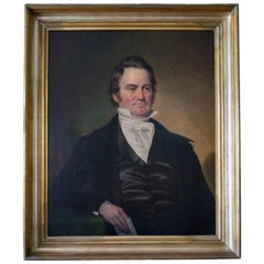 19th century American Southern Portrait by Benoni Irwin