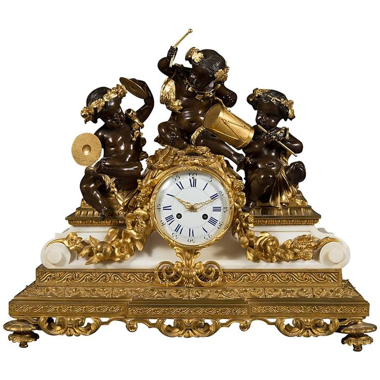 Antique victorian mantel clocks for sale