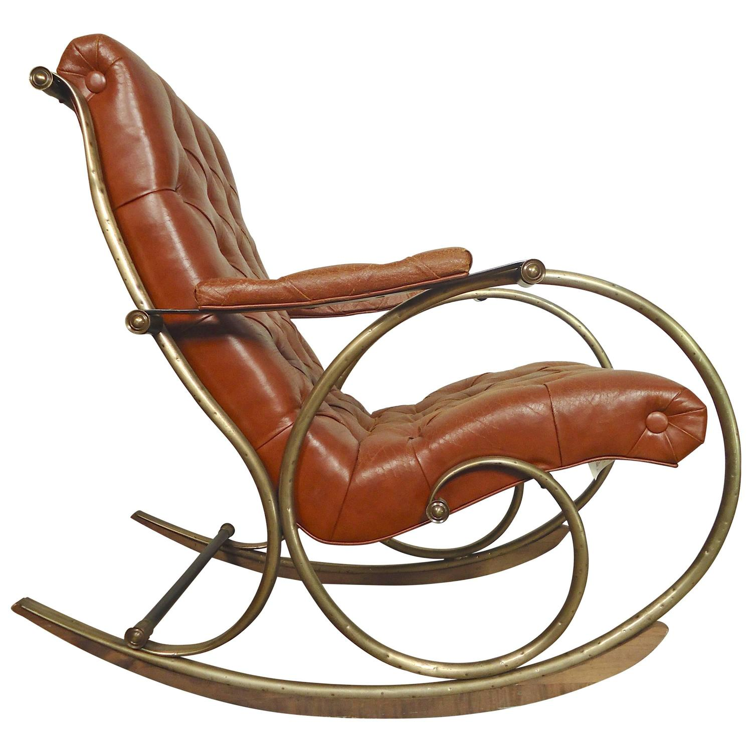 Lee Woodard Sculptural Rocking Chair At 1stdibs. Full resolution  pic, nominally Width 1500 Height 1500 pixels, pic with #7D4024.