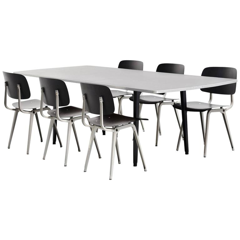 1964 Rare Friso Kramer Coffee Table For Ahrend De Cirkel: Friso Kramer Reform Table Octagon, Ahrend De Cirkel, 1955