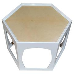 Parchment Side Table