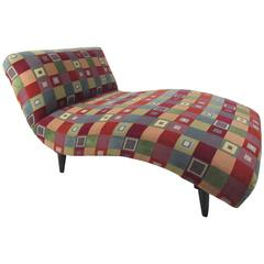Mid-Century Modern Style Chaise Longue