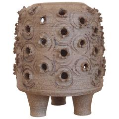 "David Cressey Ceramic ""Beehive"" Lantern Sculpture"